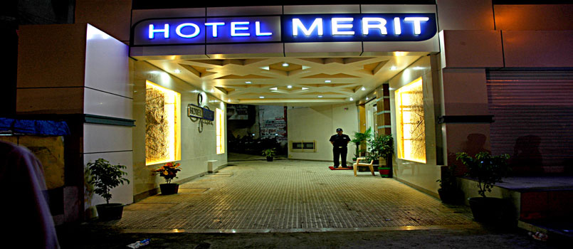 Hotel Merit is located very near to Surat Railway Station